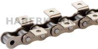 Valčeková reťaz štandardná s unášačmi 1-radá DIN 8187  - 1