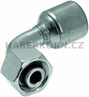 Hydraulické koncovky MegaCrimp® DIN 24° FDHORX90  - 1