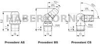 Kulová maznice DIN 71412  - 2