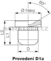 Trychtýřová maznice DIN 3405  - 2