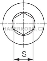 Imbusový šroub  - 2