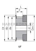 Ozubená řemenice HTD 3M (rozteč 3,0 mm)  - 2