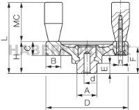 Ruční kolo plné VPRA/DM  - 2