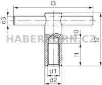 Upínací matice DIN 6305  - 2