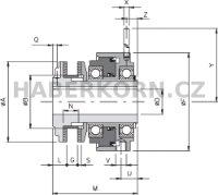 Pneumatický omezovač krouticího momentu DSF/TF/AP  - 2