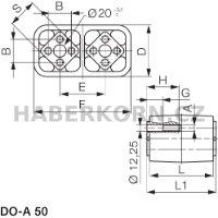 Univerzální pružný element typ DO-A  - 2