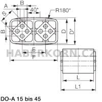 Univerzální pružný element typ DO-A  - 3