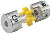 Svěrný hliníkový náboj spojky GESM  - 3