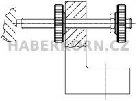 Rýhovaná matice plochá DIN 467  - 3