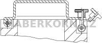 Rýhovaná matice vysoká DIN 466  - 4