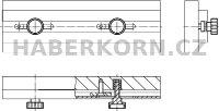 Rýhovaný šroub vysoký DIN 464  - 4